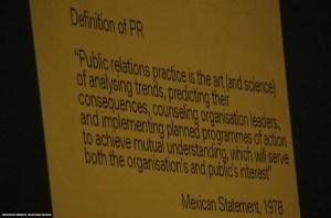 Definición de PR