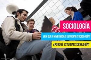 Estudiantes y Facultad de Sociología