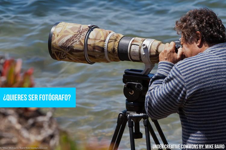 Carrera de fotógrafo