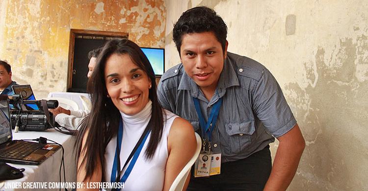 Cobertura de periodistas en Guatemala