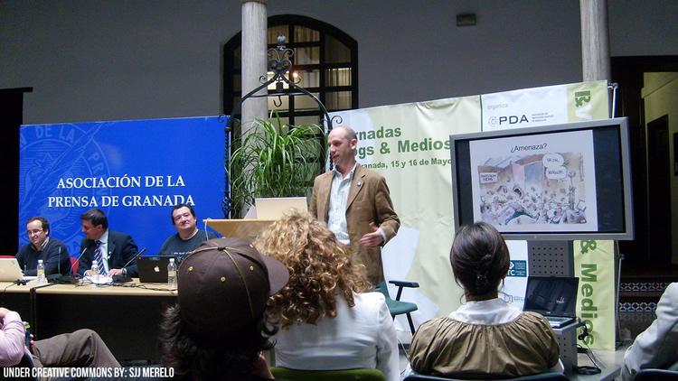 Periodistas y reporteros en Granada